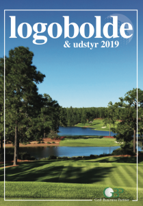 Golf logobolde 2019